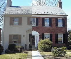 Exterior Paint Color Schemes For Brick Homes - red brick house trim color ideas