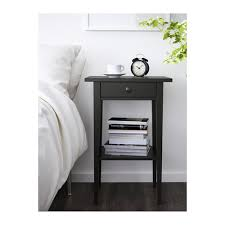 Ikea Hemnes Side Table Hemnes Bedside Table Black Brown Ikea