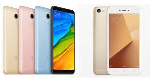 Redmi Note 5a Xiaomi Redmi 5 Vs Redmi Note 5a Specs Comparison Gizmochina