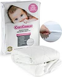 Dust Mite Crib Mattress Cover Zip Block Waterproof Hypoallergenic Crib Mattress