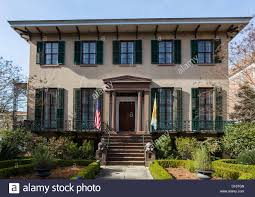 the historic andrew low house on abercorn street savannah