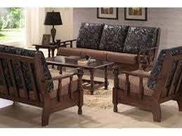 Wooden Frame Sofa Set Get Simple Wood Sofa Sets For Your Living Room House Decoration