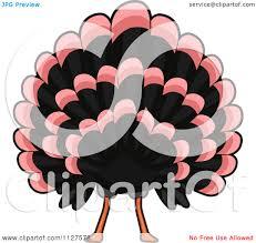 cartoon images of thanksgiving turkey cartoon of a thanksgiving turkey bird royalty free vector