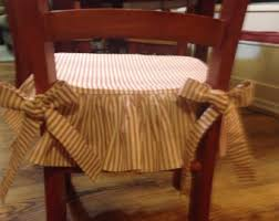 chair seat cover dining chair skirt etsy
