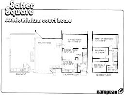 Mattamy Homes Floor Plans by Beaverbrook Kanata Townhouses Mid Century Modern Ottawa Engel