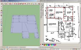 Floor Plan In Sketchup Sketchup Mr Drew U0027s Blog
