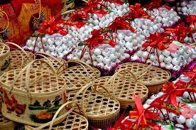 new years basket pengzhou china new year egg gift baskets stock