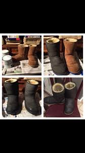 146 best glebe house vintage images on pinterest annie sloan ugg boots painted in annie sloan graphite waxed
