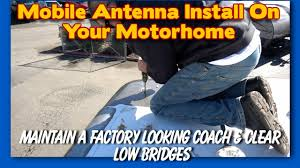 Radio Antennas For Rvs Installing A Mag Mount On A Fiberglass Rv Roof K6uda Radio