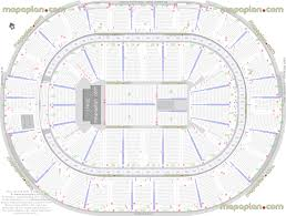 New Orleans Convention Center Map by Smoothie King Center Arena Detailed Seat U0026 Row Numbers End Stage
