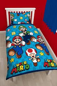 Mario Bros Bed Set Nintendo Mario Bros Single Duvet Quilt Cover