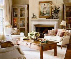 Gorgeous French Country Farmhouse Livingneutral And Creme Tones - Country family room ideas
