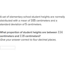 Z Score Normal Distribution Table Normal Distribution Area Between Two Points Practice Khan Academy