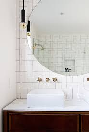 Tile Accent Wall Bathroom Subway Tile Accent Wall Design Ideas