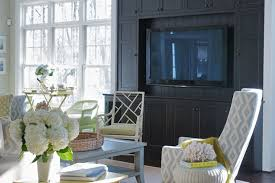 Media Room Built In Cabinets - built in media cabinet transitional living room leo designs