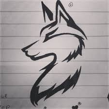 wolf tattoo idea tattoo ideas pinterest easy wolf tattoos