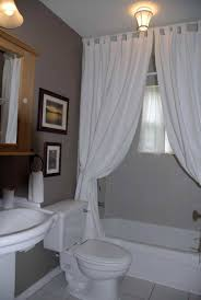 flawless white room divider ideas with curtain for bathroom shower