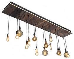 Industrial Chandelier Lighting Reclaimed Wood Rustic Light Fixture Industrial Chandeliers