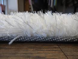 White Soft Rug Flooring Wondrous White Shag Rug Very Fluffy For Your Home