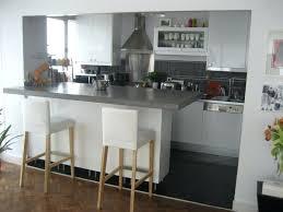 cuisine semi ouverte avec bar meuble bar cuisine americaine 6 semi ouverte sur salon avec