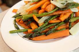 simple roasted vegetables for thanksgiving live pretty
