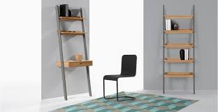 bureau echelle kleur bureau échelle pin et gris