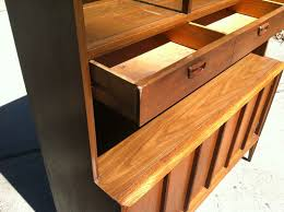 mcm keller furniture credenza and china closet sold jegs
