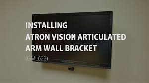 Tv Swing Arm Wall Mount 42 Atron Vision Installing Am 1342ds Articulated Arm Tv Wall Bracket