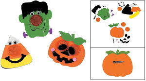 amazon com halloween reflector pin craft kit crafts for kids