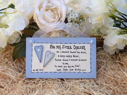 Matron Of Honor Poem Personalised Keepsake Gift For Sister Of Bride Bridesmaid Or Maid