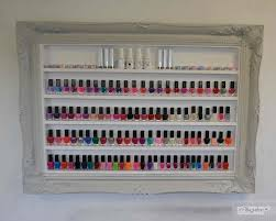 nail polish rack classic shabby chic paris grey beauty u0026 make up