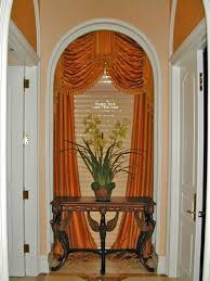 Curtain Ideas For Curved Windows 183 Best Arched Window Treatment Ideas Images On Pinterest Arch