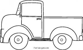 printable ford pickup coloring pages printable coloring