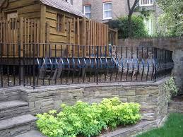 Garden Wall Railings by Leighton Ironcraft