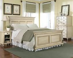 distressed white bed framefarmhouse headboard distressed white