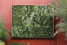 How To Make Vertical Garden Wall - easy gardening projects flora grubb vertical garden inhabitat