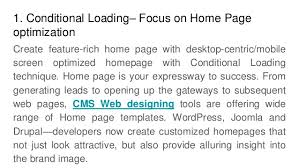 top 5 amazing ways to create responsive websites using cms web design