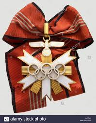 Olympic Games Decorations Decorations Germany Olympic Medal Of Honour 1936 Olympic