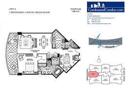 azure floor plan azure surfside condos for sale surfside forida