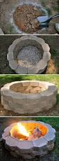 Build A Picnic Table Cheap by Diy How To Build A Backyard Fire Pit With Easy Instructions