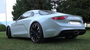 renault alpine concept interior alpine a110 vision concept sound start up revs overview