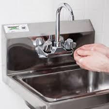 restaurant hand washing sink 17 x 15 wall mount nsf hand wash sink commercial restaurant