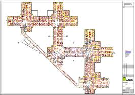 example floor plan drawings large commercial buildings plans