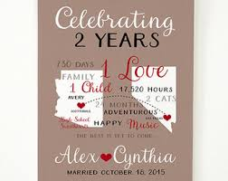 anniversary gifts for him 2 years etsy your place to buy and sell all things handmade
