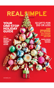 Real Simple Magazine by Women Christmas Gift Ideas