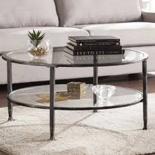 Glass Living Room Furniture Black Coffee Tables You U0027ll Love Wayfair