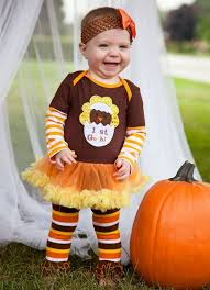 baby 1st gobble thanksgiving bodysuit romper pettiskirt tutu