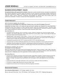 Sample Resume For Sales by Sample Resume For Federal Government Job Best Free Resume Collection