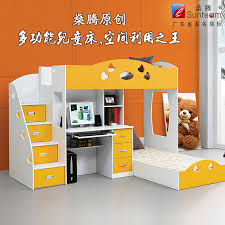 Bunk Bed Computer Desk Multifunction Bunk Bed Children S Bed Picture In Bed Computer Desk