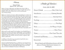 funeral programs exles catholic funeral program resume template paasprovider